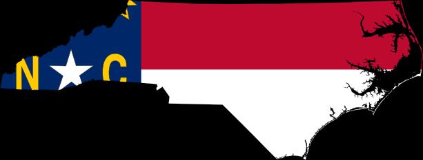NC Flag Map