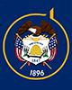Utah Flag Map