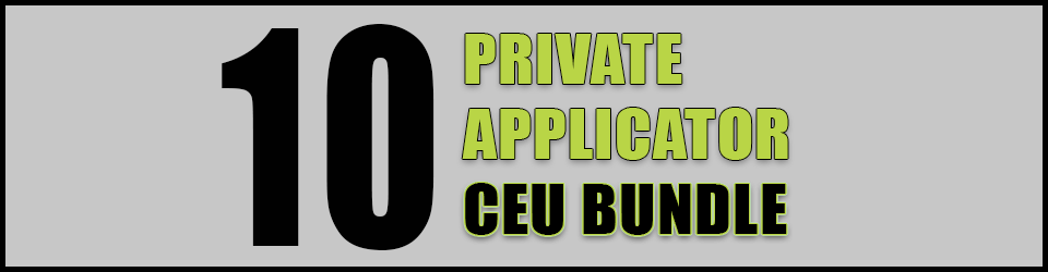 10 CEU Recertification Bundle for Texas Private Applicators