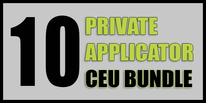 Private Applicator 10 CEU Course  OnlinePestControlCourses.com