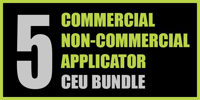Texas Commercial/Non-commercial Applicator 5 CEU