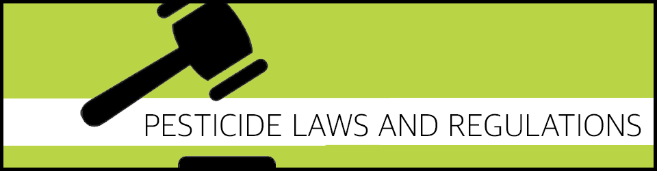 Texas Pesticide Laws and Regulations